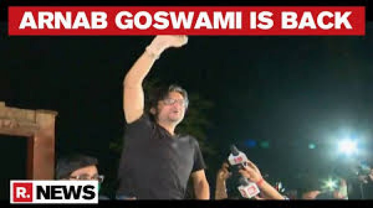Arnab Defeats the odd, nation welcomes his release with humongous applaud